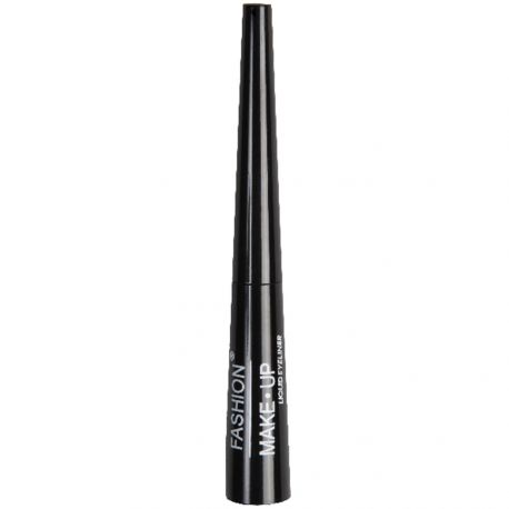 Fashion Make-Up - Eyeliner liquide N°1 noir 7ml - pinceau souple