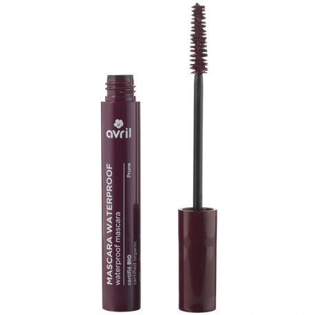 Avril - Mascara Waterproof Prune Certifié BIO - 10ml