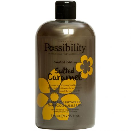 Possibility - Salted Caramel Gel douche 3 en 1 - 525ml