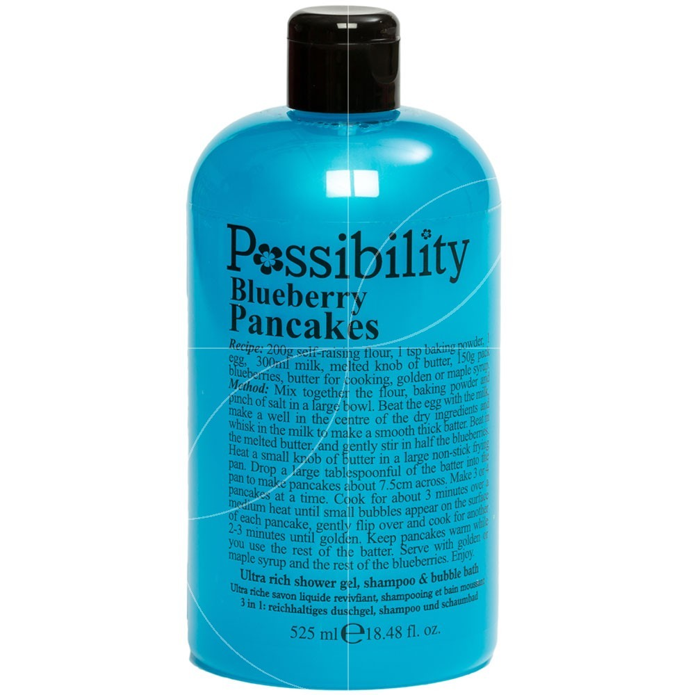 Possibility - Blueberry Pancakes Gel douche 3 en 1 - 525ml