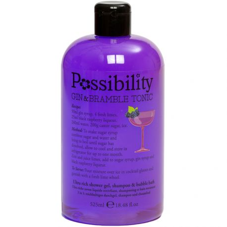 Possibility - Gin Bramble tonic Gel douche 3 en 1 - 525ml