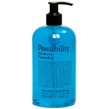 Possibility - Blueberry Pancakes Gel lavant mains - 500ml