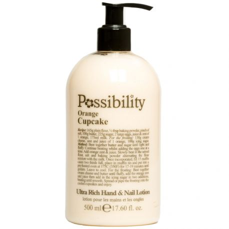 Possibility - Orange Cupcake Lait corps et mains - 500ml