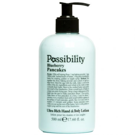 Possibility - Blueberry Pancakes Lait corps et mains - 500ml