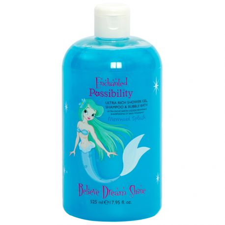 Possibility - Mermaid Splash Gel douche 3 en 1 - 525ml