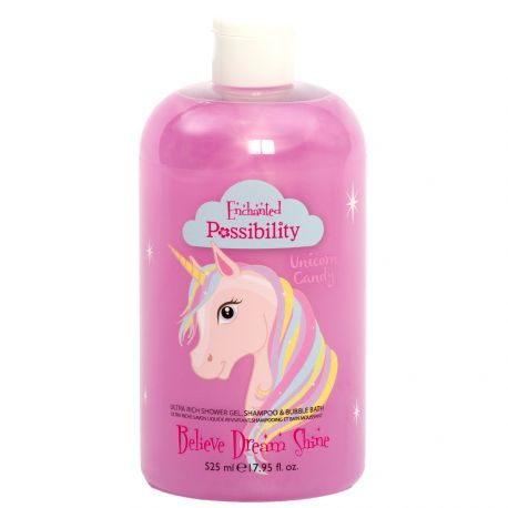Possibility - Unicorn Candy Gel douche 3 en 1 - 524ml