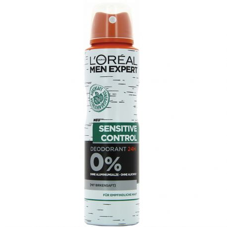 L'oréal Men Expert - Déodorant Spray Sensitive control 24H - 150ml