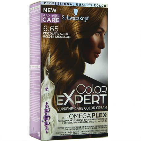Schwarzkopf - Coloration color Expert 6.65 Chocolat Doré