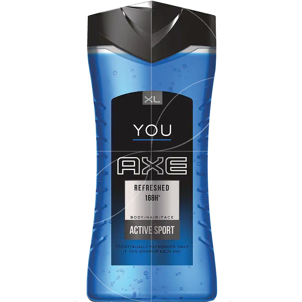 Axe - Gel douche You Refreshed Active Sport - 400ml
