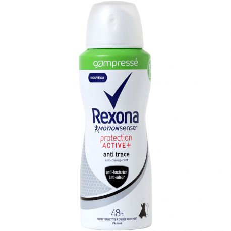 Rexona - Déodorant spray compressé Protection active 48h - 100ml