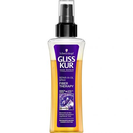 Schwarzkopf - Gliss Kur - Fiber therapy Spray réparateur huile - 100ml