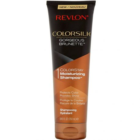Revlon - Colorsilk Shampooing hydratant Gorgeous Brunette - 250ml
