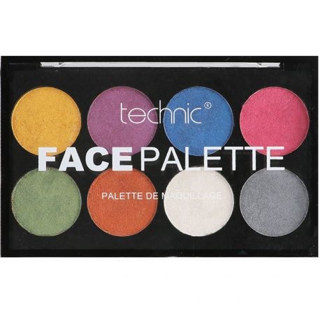 technic - Face palette de maquillage Metallic - 16g