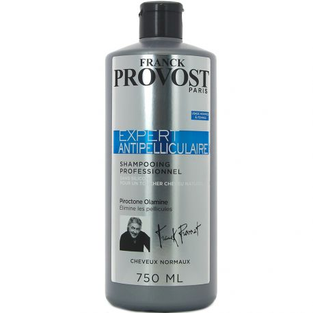 Franck Provost - Shampooing Professionnel Expert Antipelliculaire - 750ml