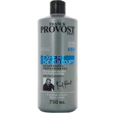 Franck Provost - Shampooing Professionnel Expert Cheveux Courts - 750ml