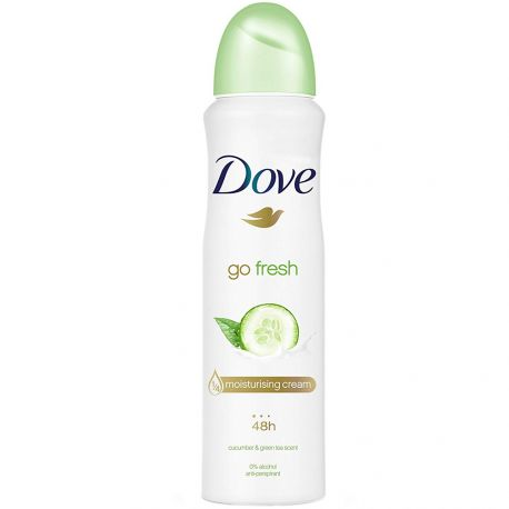 Dove - Déodorant spray - Go Fresh 48h concombre & thé vert - 150ml
