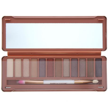 Barefaced Chic - Palette 12 fards yeux Natural - 12x1g