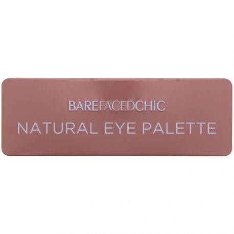 Bare faced Chic - Natural Palette 12 fards yeux - 12x1g