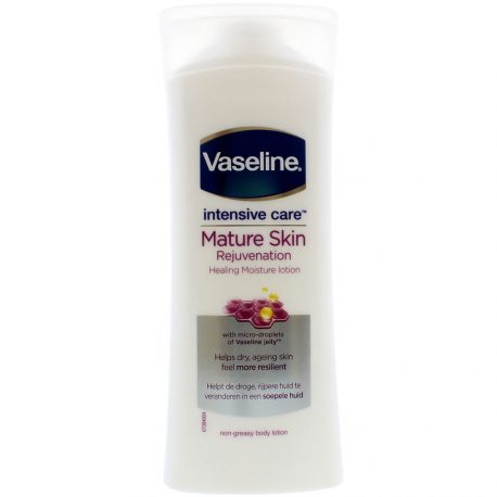 Vaseline - Intensive Care Lait hydratant peaux matures - 400ml