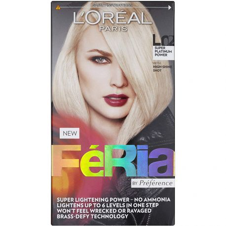 L'oréal - Coloration Féria L02 Super Platinium Power By Prérérence