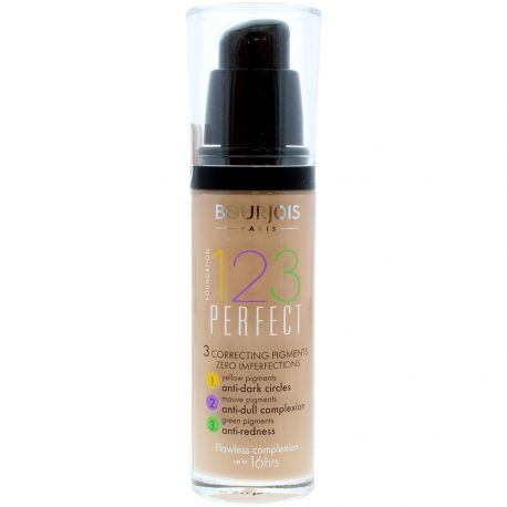 Bourjois - 123 perfect Fond de teint n°56 Beige rosé - 30ml