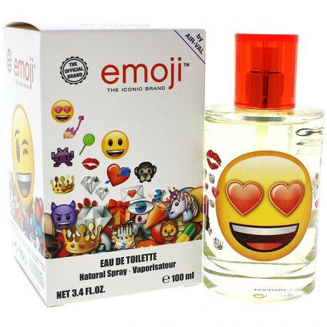 Air-Val - Eau de toilette Enfant emoji - 100ml