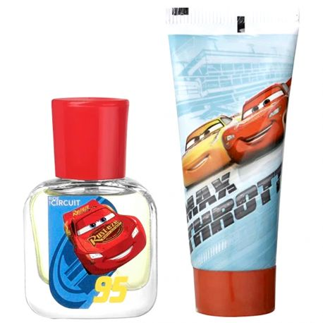 Disney - Coffret Cars gel douche 70ml + eau de toilette 30ml