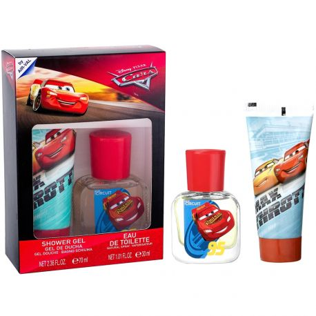 Disney - Coffret Cars gel douche + eau de toilette
