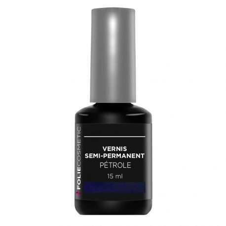 Folie Cosmetic - Vernis Semi-permanent- Pétrole - 15 ml