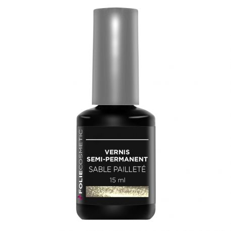 Folie Cosmetic - Vernis Semi-permanent- Sable pailleté - 15 ml