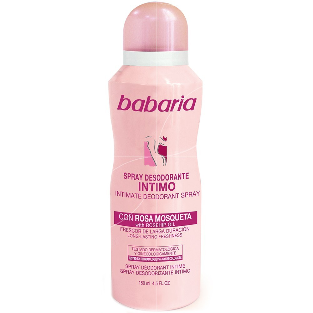 Babaria - Spray déodorant intime - 150ml