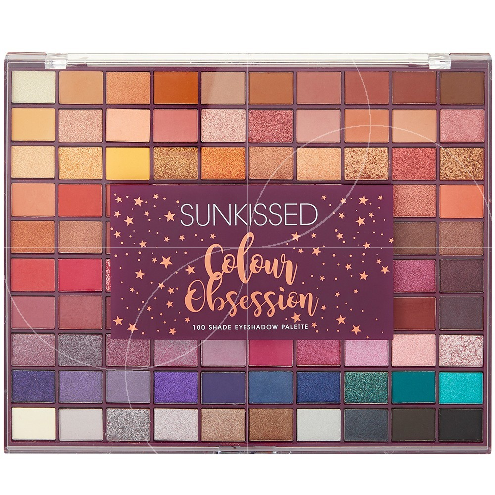 Sunkissed - Palette yeux Colour Obsession 100 fards