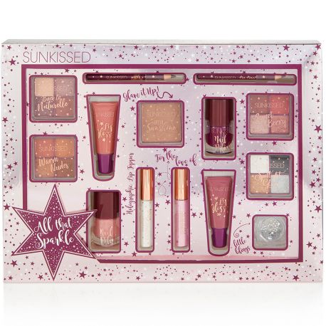 Sunkissed - Coffret cosmétiques All That Sparkle