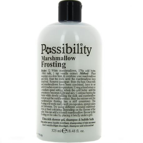Possibility - Marshmallow Soufflé Gel douche 3 en 1 - 525ml