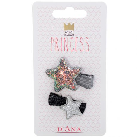 D'Ana - Little Princess Lot de 2 Barettes 310099