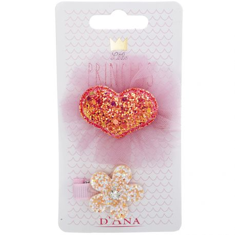 D'Ana - Little Princess Lot de 2 Barettes 310092