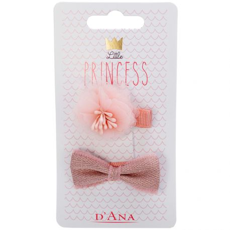 D'Ana - Little Princess Lot de 2 Barettes 310086