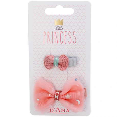 D'Ana - Little Princess Lot de 2 Barettes 310084