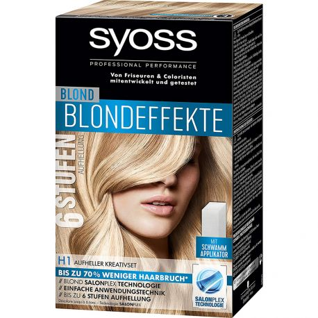 Syoss - Décoloration Blond SalonPlex Technologie - H1