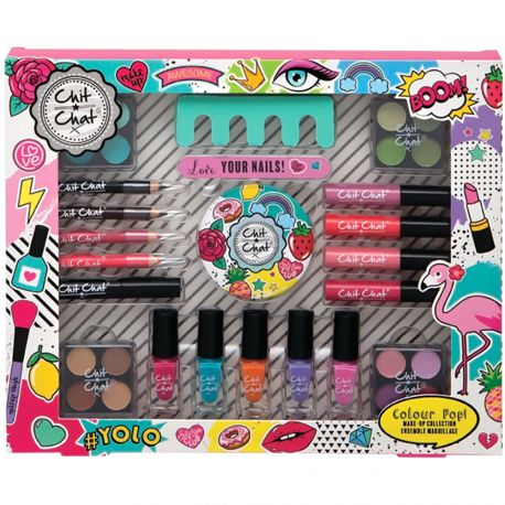 Chit Chat - Coffret Maquillage Colour Pop! - 19pcs