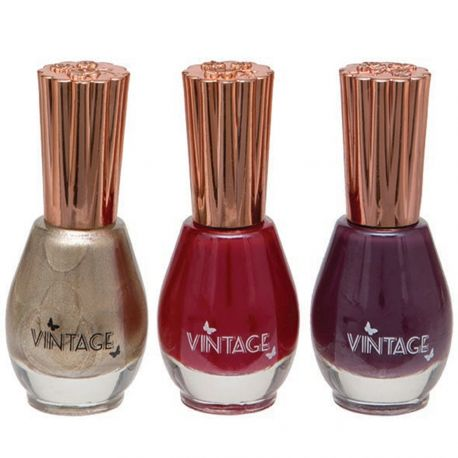 Body Collection - Vintage - Coffret 3 vernis - 3x12ml