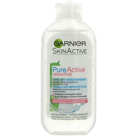 Garnier skin active - Pure Active Sensitive - Tonique Anti-Imperfections - 200ml
