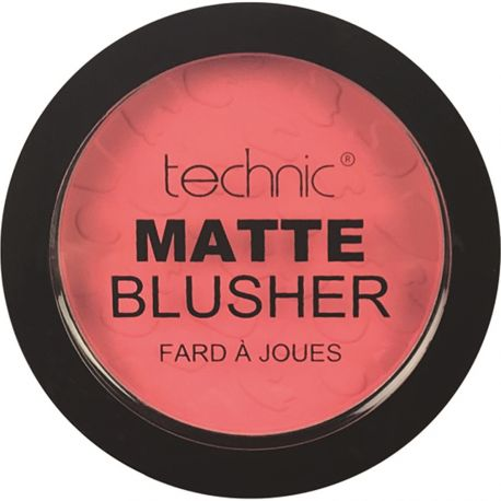 technic - Matte Blusher - Coral - 11g