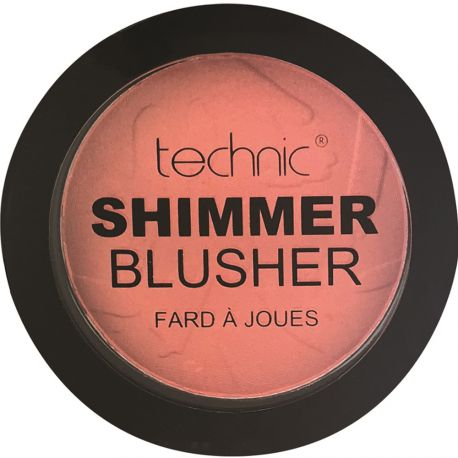 technic - Shimmer Blusher - Coral Bay - 11g