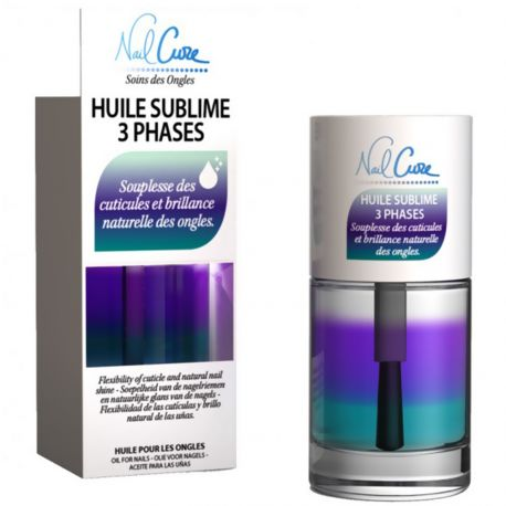 Nail Cure - Huile sublime 3 phases cuticules et ongles - 10ml