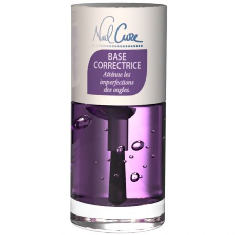 Nail Cure - Base correctrice, atténue les imperfections des ongles - 10ml