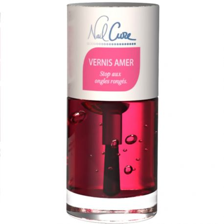 Nail Cure - Vernis amer, Stop aux ongles rongés - 10ml