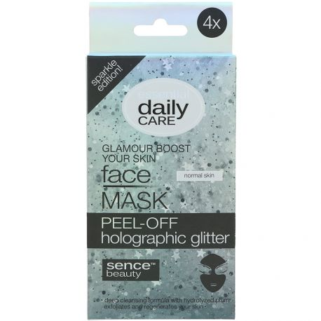 sence beauty - Masque Pell-off pailletté - 5x8gr