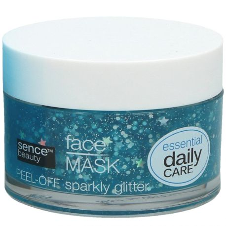 Sence beauty - Masque peel-off pailletté pour le visage - 50ml