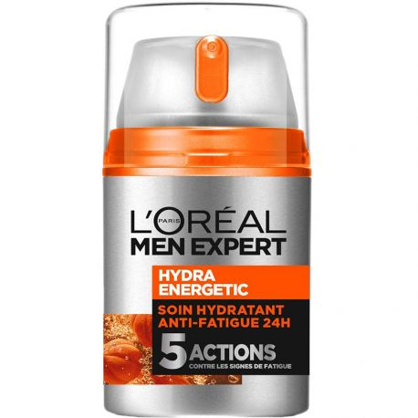 L'Oréal Men Expert - Hydra Energetic Soin Hydratant 5 Actions - 50 ml